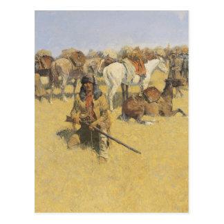 Cartão Postal Arte de Frederic Remington