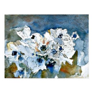 Cartão Postal Arte de Mikhail Vrubel: Flores