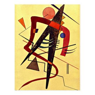 Cartão Postal Arte de Paul Klee: Morno