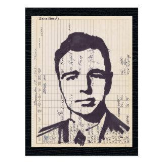 Cartão Postal Arte de rádio do registro do radioamador do