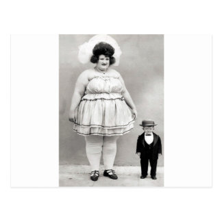 Cartão Postal arte do circo