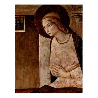 Cartão Postal Arte do Fra Angelico