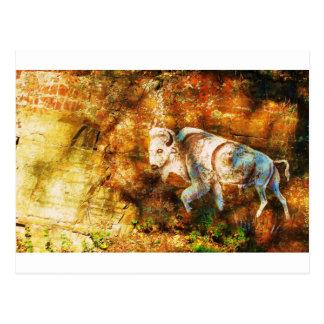 Cartão Postal Arte do penhasco