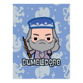 Cartão Postal Arte do personagem de desenho animado de