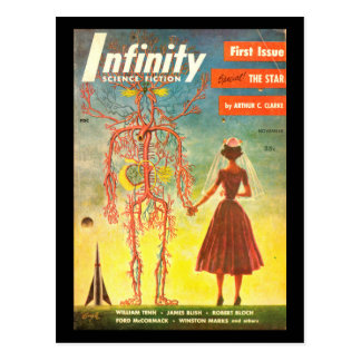 Cartão Postal Arte do _Pulp da infinidade v01 n01