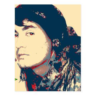 Cartão Postal Arte do soldado de YPG