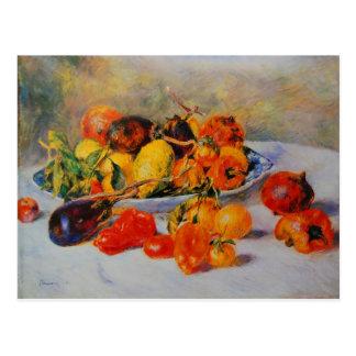 Cartão Postal Arte do vintage de Renoir
