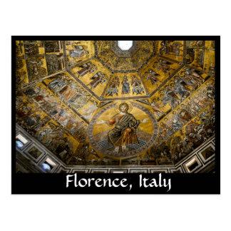 Cartão Postal Arte em Florença, Italia
