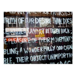 Cartão Postal Arte/grafites da rua do mercado de Kensington