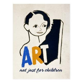 Cartão Postal ARTE… não apenas para crianças [cartão]