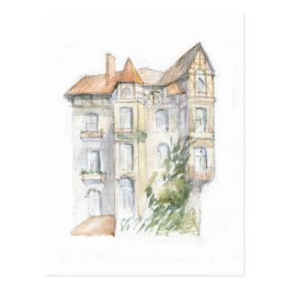 Cartão Postal Arte Nouveau