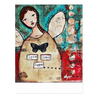 Cartão Postal Arte original pela série de Croppin