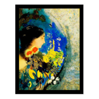 Cartão Postal Arte-Redon Cartão-Clássica 20