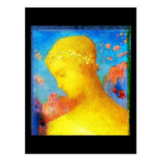 Cartão Postal Arte-Redon Cartão-Clássica 24