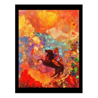 Cartão Postal Arte-Redon Cartão-Clássica 27