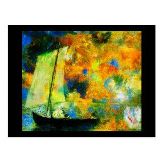 Cartão Postal Arte-Redon Cartão-Clássica 34