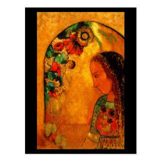 Cartão Postal Arte-Redon Cartão-Clássica 38