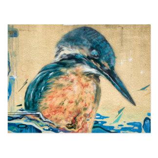 Cartão Postal Arte sagrado da parede do martinho pescatore