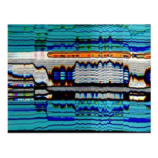 Cartão Postal Arte Trippy