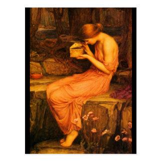 Cartão Postal Arte-Waterhouse Cartão-Clássico 14