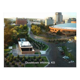 Cartão Postal Artes de palco Wichita do centro, Kansas