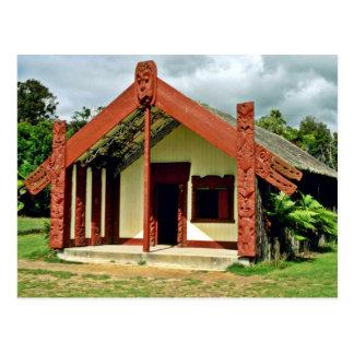 Cartão Postal Artes maori e artesanatos instituto, Rotorua