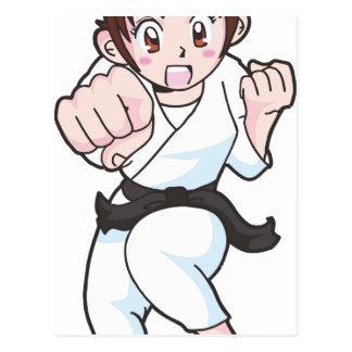 Cartão Postal Artes marciais