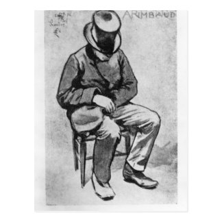 Cartão Postal Arthur Rimbaud