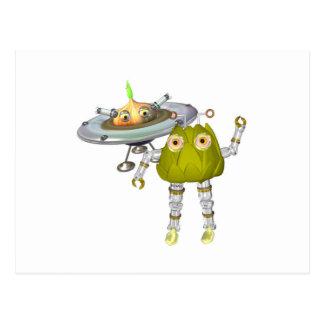 Cartão Postal ArtichokeBot OnionBot FudeBots