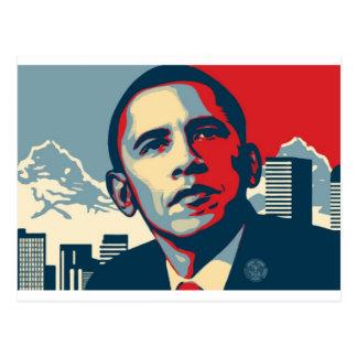 Cartão Postal Artigo de Obama