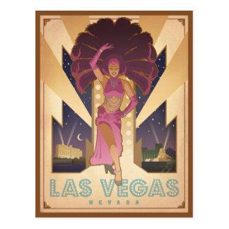 Cartão Postal Artista de Las Vegas, Nevada |
