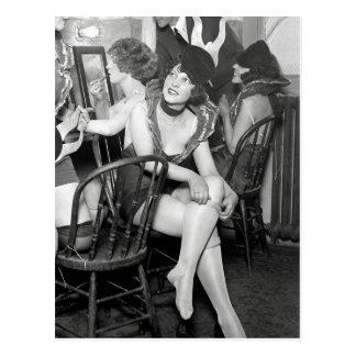 Cartão Postal Artistas De bastidores, 1926