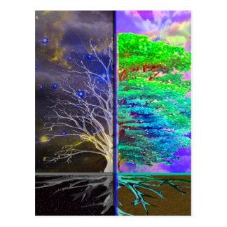 Cartão Postal Árvore da conexão da vida