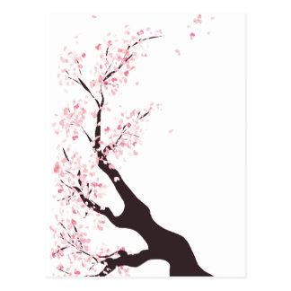 Cartão Postal Árvore de cereja