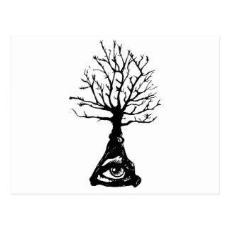 Cartão Postal Árvore de Everwatching