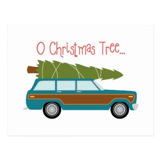 Cartão Postal Árvore de Natal de O