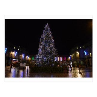 Cartão Postal Árvore de Natal em Dundee