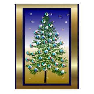 Cartão Postal Árvore do globo ocular