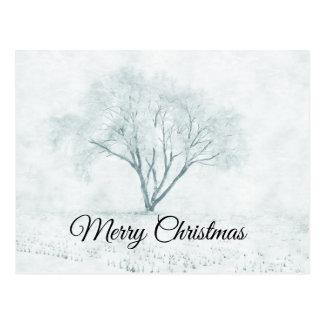 Cartão Postal Árvore do inverno