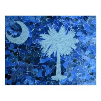 Cartão Postal Árvore do Palmetto de South Carolina