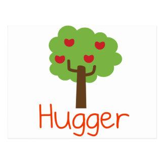 Cartão Postal Árvore Hugger