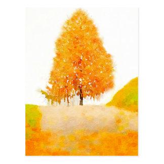 Cartão Postal Árvore Ridge