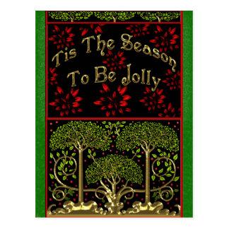 Cartão Postal As artes e os artesanatos do século XIX inspiraram