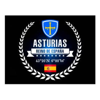 Cartão Postal As Astúrias