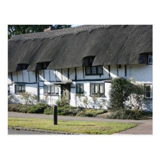 Cartão Postal As casas de campo de Anne Boleyn em Wendover,