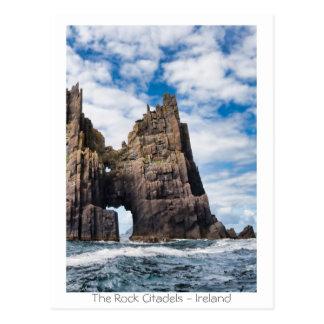 Cartão Postal As citadelas da rocha