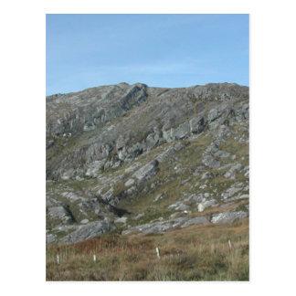 Cartão Postal As colinas rochosas aproximam a cabeça de Dursey.