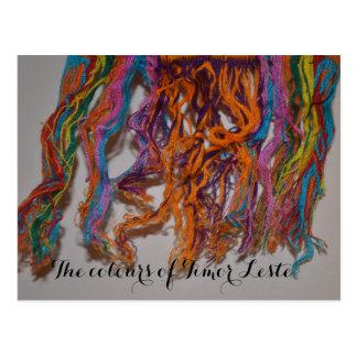 Cartão Postal As cores de Timor-Leste