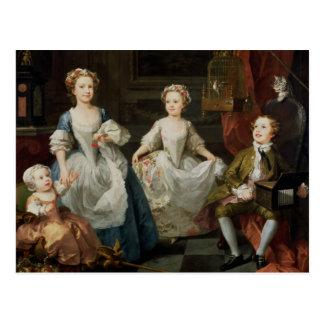 Cartão Postal As crianças de Graham, 1742