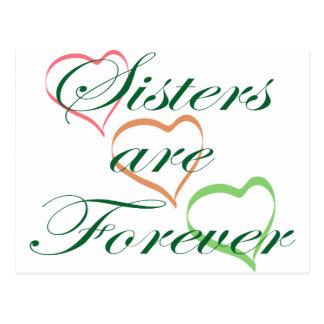Cartão Postal As irmãs são Forever